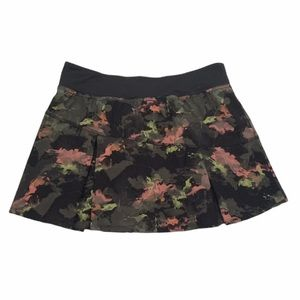 Lija Water Camo Tennis Skort Skirt